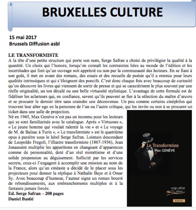 Bruxelles Culture Tr