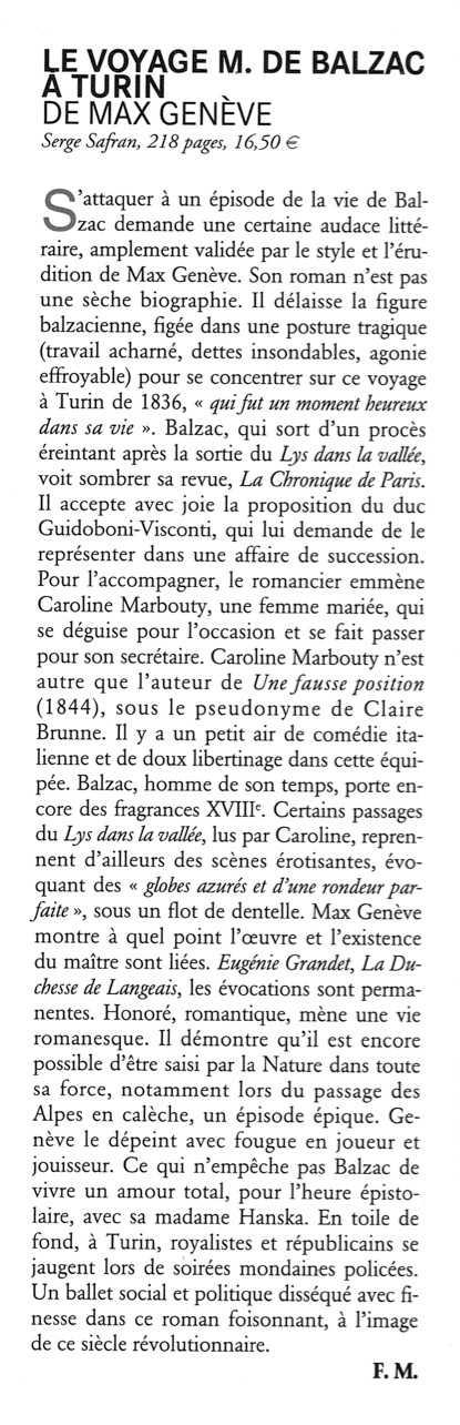 Matricule Balzac